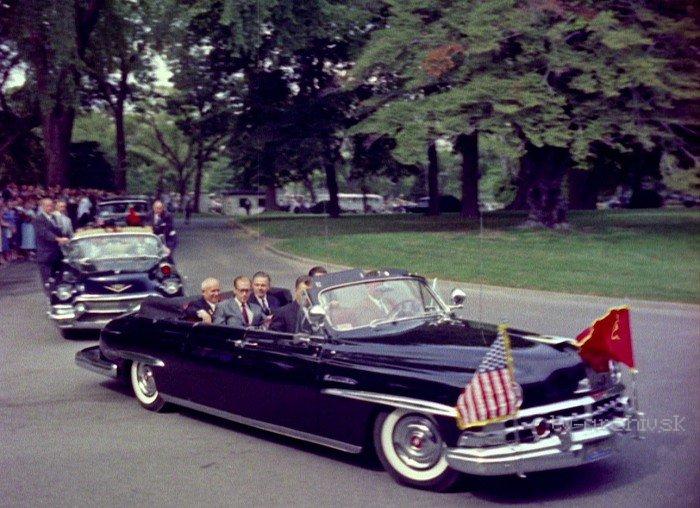 Chruščov dobýja Ameriku