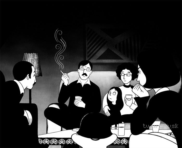 persepolis majane satrapi stereotypes Aug 4, 2017 marjane satrapi's autobiographical graphic novel, persepolis, tells the tale of a nation that is now stereotyped for its fanaticism and terrorism.