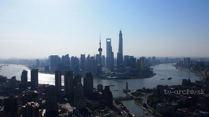 Čína zhora