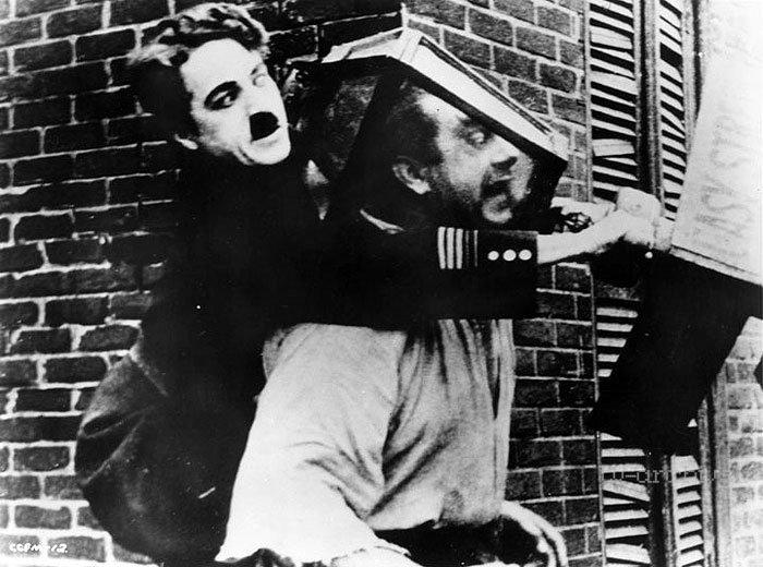 Chaplin strážcom verejného poriadku