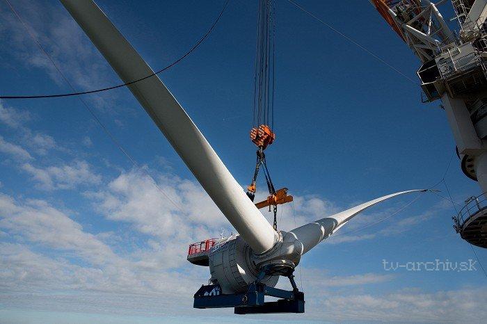 Obří větrná turbína