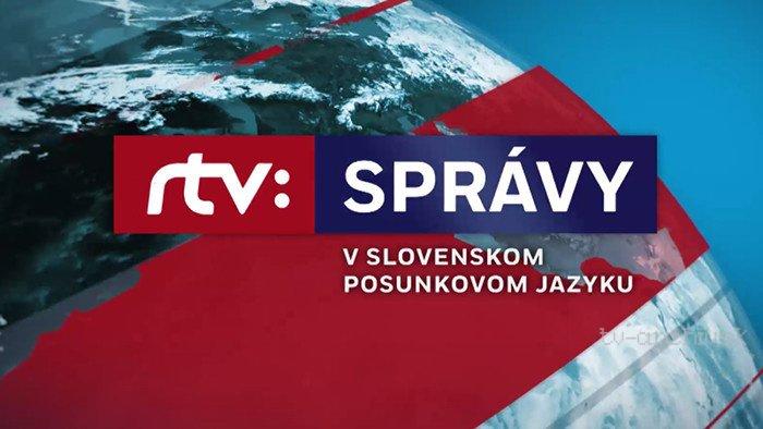 Správy RTVS v slovenskom posunkovom jazyku 2020