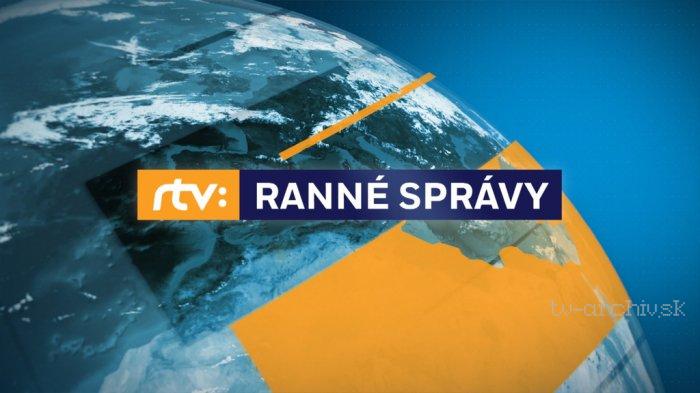 Ranné správy RTVS 2020
