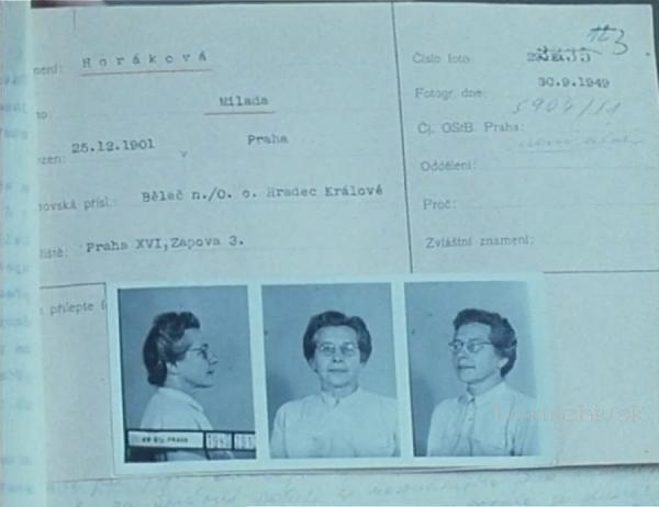 Případ Dr. Horáková 1990