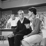 Peter Lorre (Carlos), Steve McQueen, Neile Adams