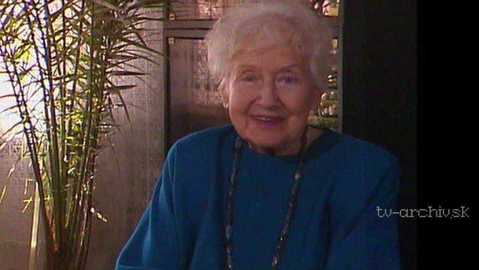Viera Bálinthová - Herečka bez javiska 1995