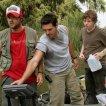 Tyler Labine (Dave Groves), Eddie Cibrian (Russell Varon), Evan Peters (Jesse Varon)