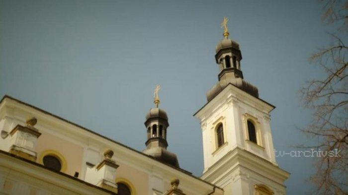 Poutní chrám Panny Marie na Chlumku v Luži
