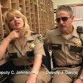 Carlos Alazraqui (Deputy James Garcia), Wendi McLendon-Covey (Deputy Clementine Johnson)