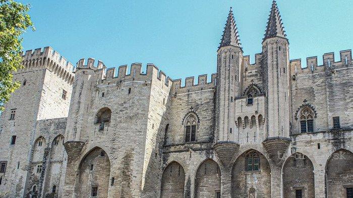 Papežský palác: Gotická pevnost 2019