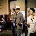 Gene Hackman (Buck Barrow), Warren Beatty (Clyde Barrow), Faye Dunaway (Bonnie Parker)
