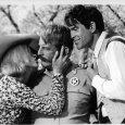 Warren Beatty (Clyde Barrow), Faye Dunaway (Bonnie Parker), Denver Pyle (Frank Hamer)