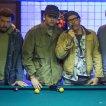 Michael Keaton (Joe Stumpo), Larry David (Nathan), Bill Hader (Rags), Danny McBride (Frank)