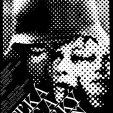 Plagát k filmu: Veľká noc a veľký deň (1974). Zobrazenie: rastrované ľudské tváre vojenská prilba.