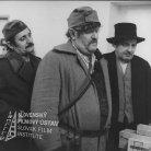 Anton Trón (Čirko), Viliam Polónyi (pastier Maťo), Milan Kiš (čatár) Zľava doprava stoja: Milan Kiš (čatár), Viliam Polónyi (pastier Maťo) a Anton Trón (Čirko)