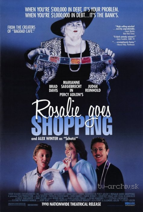 Rosalie Goes Shopping 1989