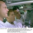 Kevin Bacon (Jack Swigert), Tom Hanks (Jim Lovell), Bill Paxton (Fred Haise)