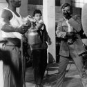 Michael Caine (Charlie Croker), Harry Baird (Big William), George Innes (Bill Bailey)