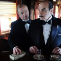 Toby Jones (Samuel Ratchett), David Suchet (Hercule Poirot)