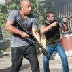 Vin Diesel (Dominic Toretto), Paul Walker (Brian O'Conner)