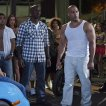 Tyrese Gibson (Roman), Sung Kang (Han), Vin Diesel (Dominic Toretto)
