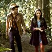 Andrew Lee Potts (Hatter), Caterina Scorsone (Alice)