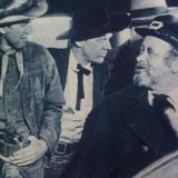 James Stewart, Chubby Johnson, Arthur Kennedy (Emerson Cole)