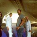 Carla Gugino (Dr. Alex Friedman), Alexander Ludwig (Seth), Dwayne Johnson (Jack Bruno), AnnaSophia Robb (Sara)