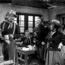 John Wayne (Capt. Nathan Cutting Brittles), Michael Dugan (Sgt. Hochbauer), Mildred Natwick (Abby Allshard)