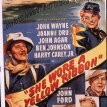 John Wayne (Capt. Nathan Cutting Brittles), Harry Carey Jr. (Second Lt. Ross Pennell), Joanne Dru (Olivia Dandridge), John Agar (Lt. Flint Cohill), Ben Johnson (Sgt. Tyree)