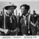 John Wayne (Capt. Nathan Cutting Brittles), Ben Johnson (Sgt. Tyree)