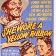 John Wayne (Capt. Nathan Cutting Brittles), John Agar (Lt. Flint Cohill), Joanne Dru (Olivia Dandridge)