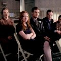 Lauren Ambrose (Claire Fisher), Frances Conroy (Ruth Fisher), Michael C. Hall (David Fisher), Freddy Rodríguez (Federico 'Rico' Diaz), Peter Krause (Nate Fisher)