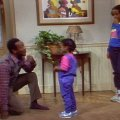 Bill Cosby (Dr. Heathcliff 'Cliff' Huxtable), Keshia Knight Pulliam (Rudy Huxtable), Tempestt Bledsoe (Vanessa Huxtable)