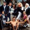 Johnny Depp (Cry-Baby), Traci Lords (Wanda Woodward), Ricki Lake (Pepper Walker), Iggy Pop (Belvedere Rickettes), Darren E. Burrows (Milton Hackett), Kim McGuire (Mona 'Hatchet-Face' Malnorowski)