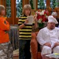Jerry Kernion, Cole Sprouse (Cody Martin), Dylan Sprouse (Zack Martin)