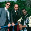 Eddie Murphy (Axel Foley), Judge Reinhold (Billy Rosewood), John Ashton (John Taggart)