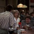 Ted Danson (Sam Malone), Shelley Long (Diane Chambers), George Wendt (Norm Peterson)