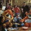 Drew Carey (Drew Carey), Diedrich Bader (Oswald Lee Harvey), Christa Miller (Kate O'Brien), Ryan Stiles (Lewis Kiniski), The Krofft Puppets