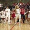 Corbin Bleu (Chad Danforth), Monique Coleman (Taylor McKessie), Ashley Tisdale (Sharpay Evans), Zac Efron (Troy Bolton), Lucas Grabeel (Ryan Evans)