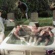 Ryan Reynolds, Zach Braff (Dr. John 'J.D.' Dorian), Donald Faison (Dr. Christopher Turk)
