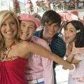 Ashley Tisdale (Sharpay Evans), Vanessa Hudgens (Gabriella Montez), Zac Efron (Troy Bolton), Lucas Grabeel (Ryan Evans)