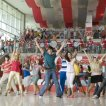 Corbin Bleu (Chad Danforth), Olesya Rulin (Kelsi Nielsen), Ashley Tisdale (Sharpay Evans), Vanessa Hudgens (Gabriella Montez), Zac Efron (Troy Bolton), Lucas Grabeel (Ryan Evans)