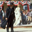 Kurt Russell (Wyatt Earp), Joanna Pacula (Kate), Dana Wheeler-Nicholson (Mattie Earp)