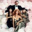 Cher (Alexandra Medford), Susan Sarandon (Jane Spofford), Michelle Pfeiffer (Sukie Ridgemont), Jack Nicholson (Daryl Van Horne)