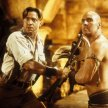 Brendan Fraser (Rick O'Connell), Arnold Vosloo (Imhotep)