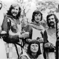 John Cleese (Second Swallow-Savvy Guard), Terry Gilliam (Patsy), Graham Chapman (King Arthur), Eric Idle (Dead Collector), Terry Jones (Dennis's Mother), Michael Palin (First Swallow-Savvy Guard)