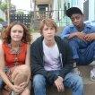Thomas Mann (Greg), Olivia Cooke (Rachel), RJ Cyler (Earl)