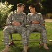 Geoff Stults (Sgt. Pete Hill), Angelique Cabral (Sgt. Jill Perez)