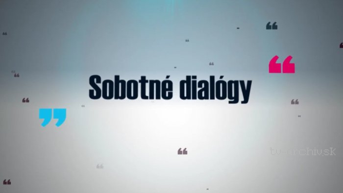 Sobotné dialógy s Braňom Dobšinským
